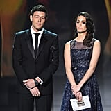 Cory Monteith and Emmy Rossum
