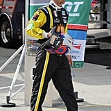 Patrick Dempsey Looks Sexy as He Suits Up to Speed Off