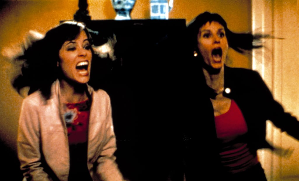 parker posey and courteney cox scream scream 3 movie