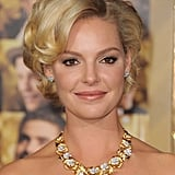 All eyes were on Katherine Heigl's statement necklace.