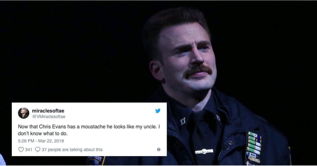72783cb25ab5381f1d7496.58202013_ reactions to chris evans's mustache march 2018 popsugar celebrity