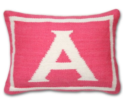 Jonathan Adler Junior Letter Pillow ($98)