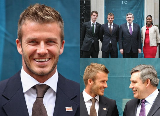 21/4/2009 David Beckham Downing Street