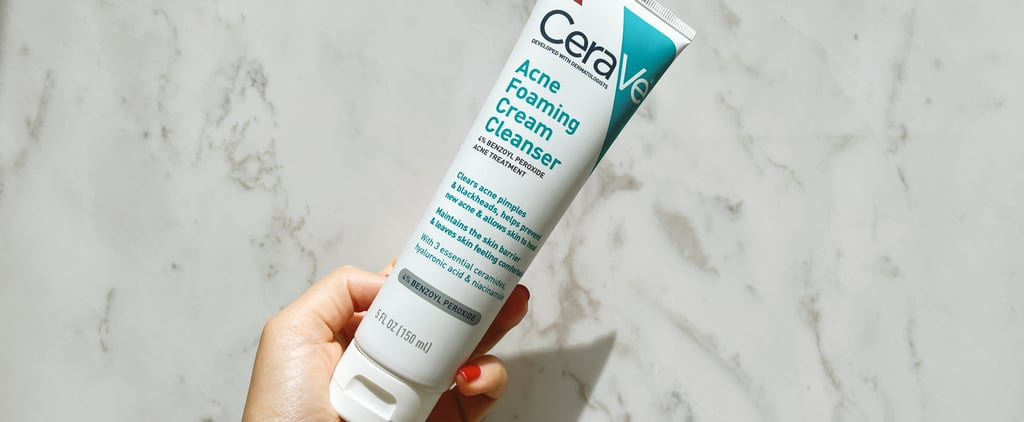 CeraVe Acne Foaming Cream Cleanser Review With Photos