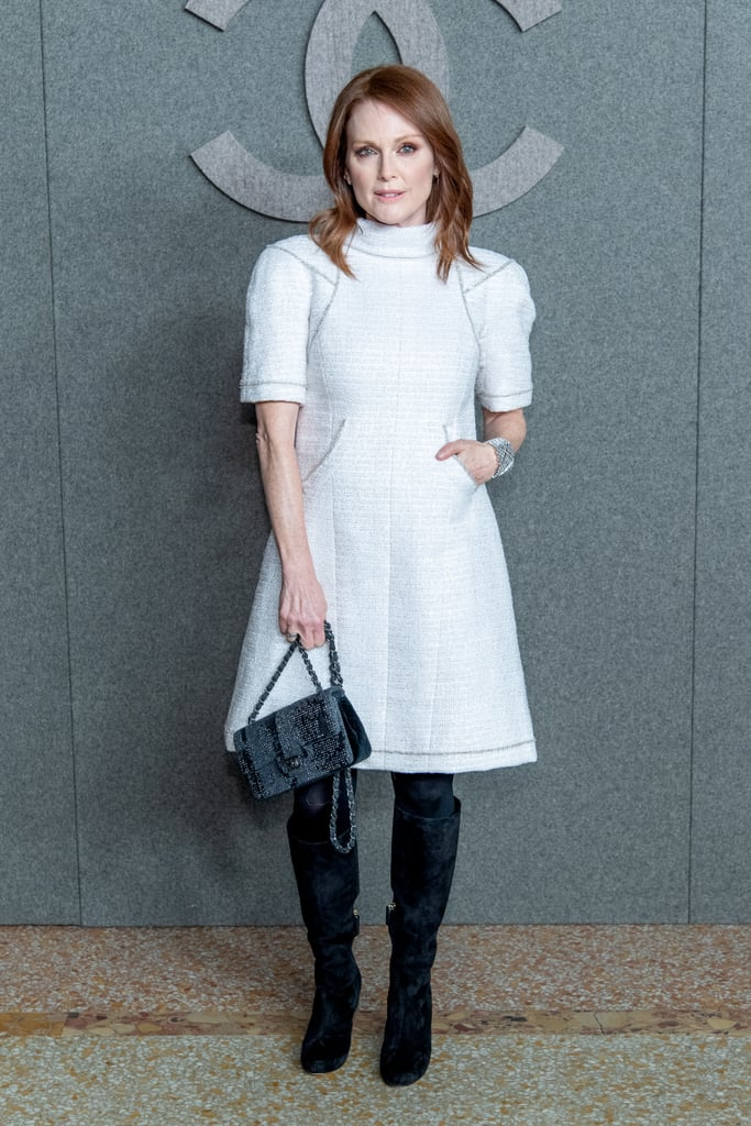 Julianne Moore Looked Incredibly Chic in Her White Dress