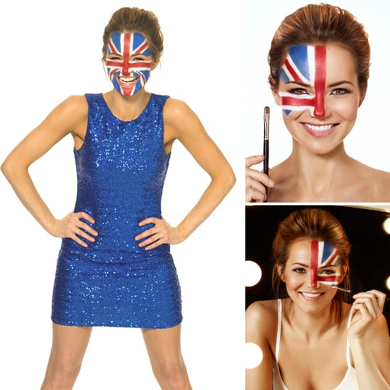 Union Jack Beauty on Kara Tointon For Panasonic Flag Tags