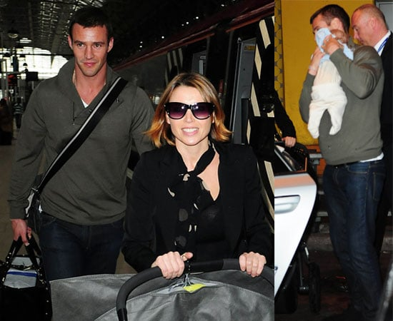 Pictures of Dannii Minogue, Kris Smith and Ethan