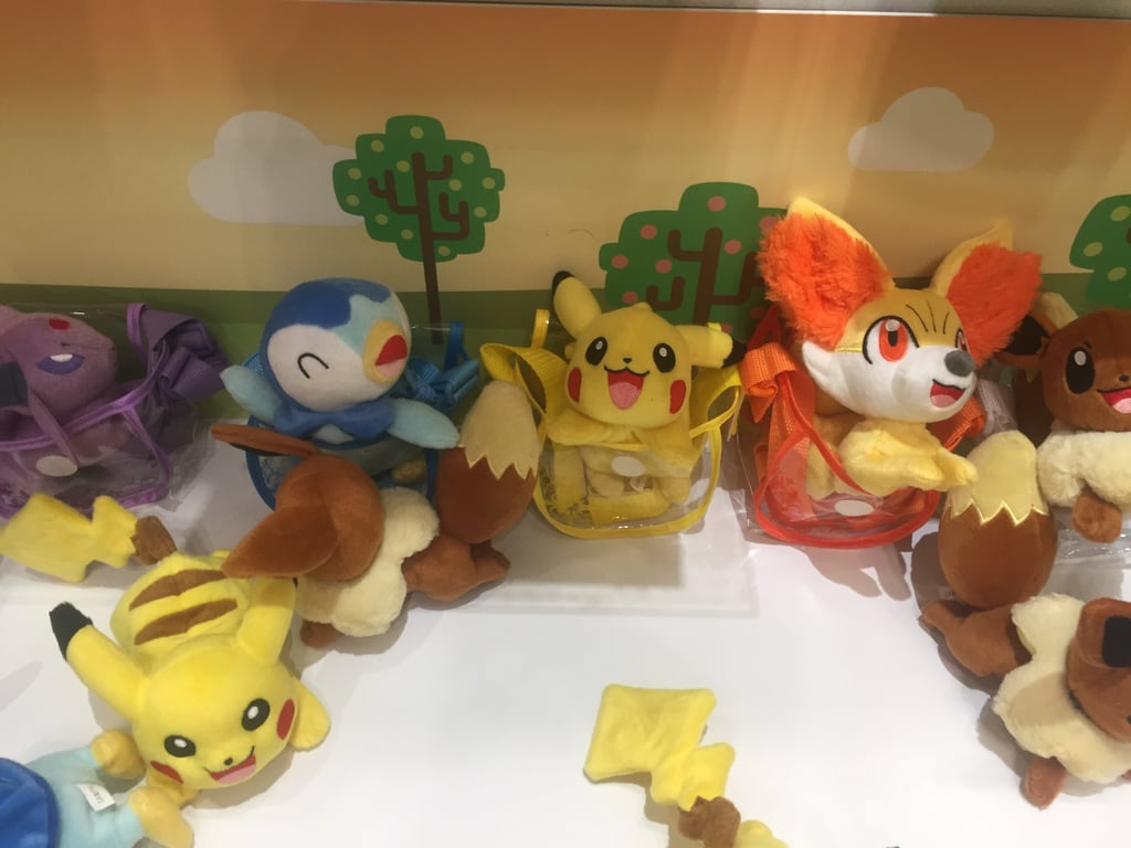 Pokemon Petite Pals Shoulder Stuffed Figure