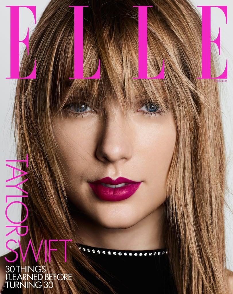 Taylor Swift on Elle April 2019