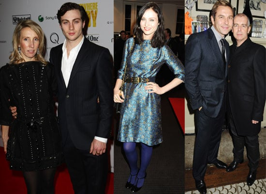 Photos from London Nowhere Boy Screening with Aaron Johnson, Sam Taylor-Wood, Sophie Ellis-Bextor, Sarah Brown, David Walliams