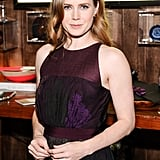 Amy Adams posed for photos at the event.