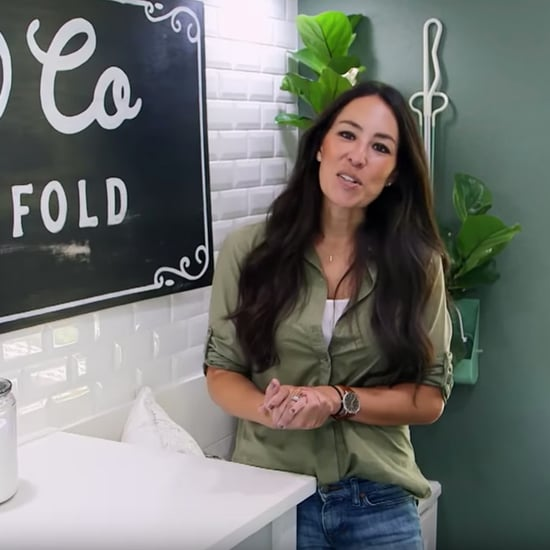 Joanna Gaines's Tips For Organizing a Laundry Room