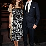 Keira Knightley and Benedict Cumberbatch attended a screening for their movie, The Imitation Game, in London on Thursday.