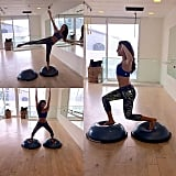 It's never too late to try a new workout. Lea tried BOSU for the first time and loved it!