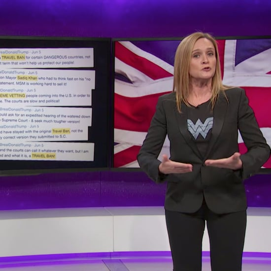 Samantha Bee on Trump's London Terror Attack Tweets