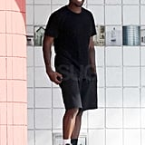 Photos of Kanye West in Black