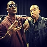 Tyrese Gibson and Ludacris
