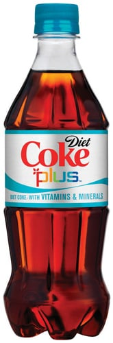 Fittingly Mad:  Diet Coke Plus?