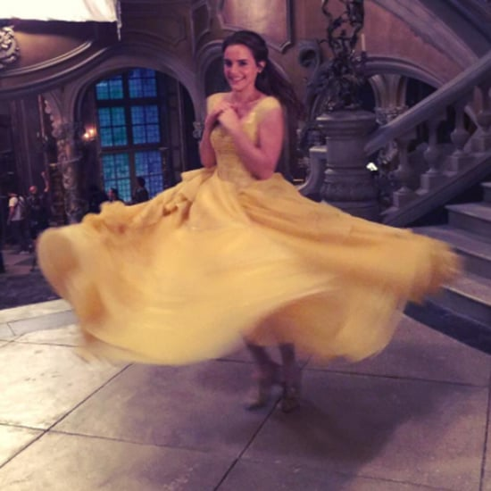 Emma Watson Beauty and the Beast Instagram Photo March 2017
