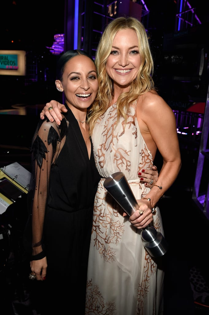 Nicole partied with Kate Hudson in December 2014.