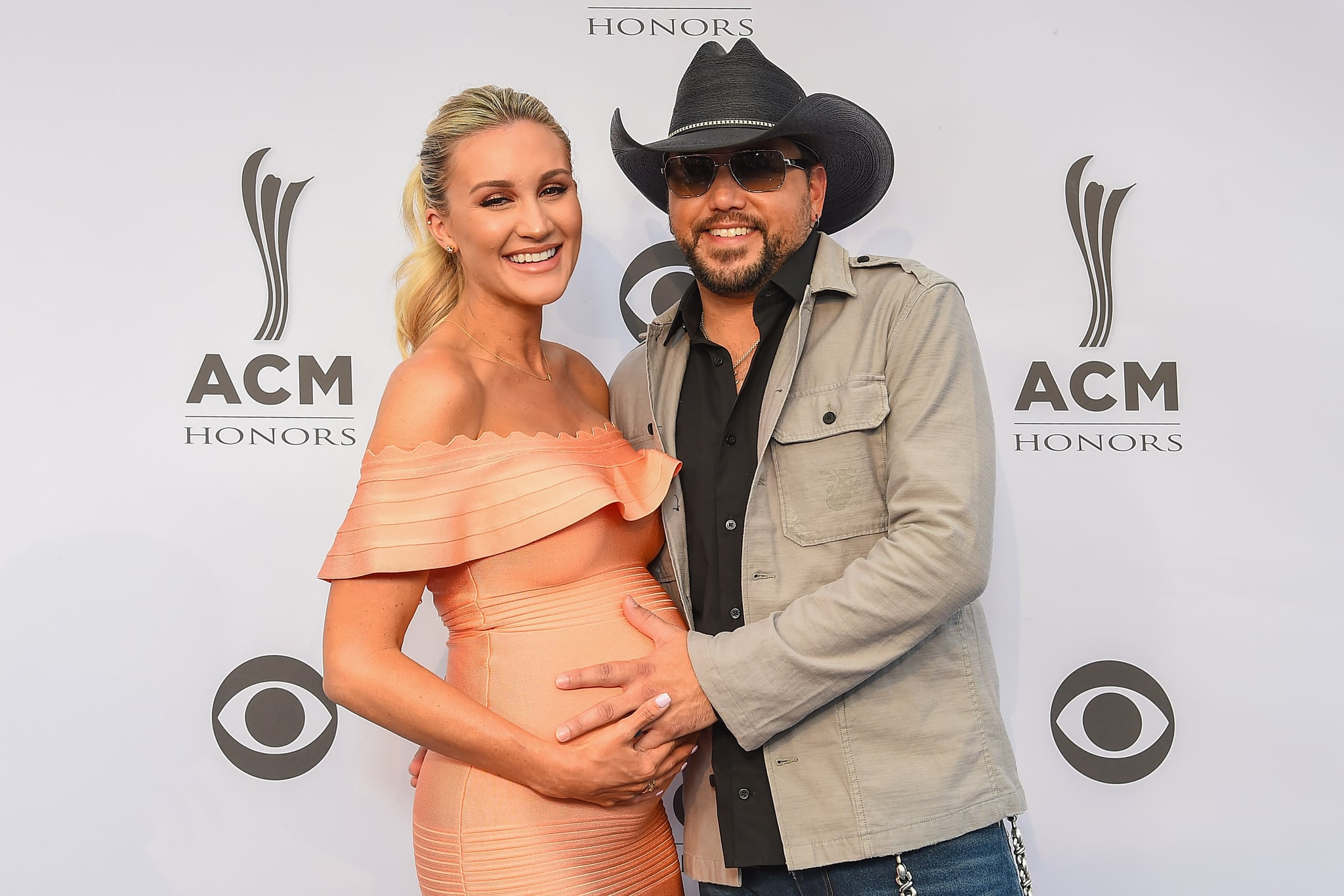 NASHVILLE, TN - AUGUST 23:  Brittany Kerr (L) and Jason Aldean attend the 11th Annual ACM honours at the Ryman Auditorium on August 23, 2017 in Nashville, Tennessee.  (Photo by Erika Goldring/FilmMagic)