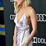 Scarlett Johansson and Brie Larson Infinity Stone Jewelry