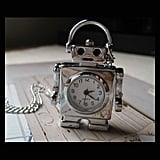 Robot Watch Necklace ($12)