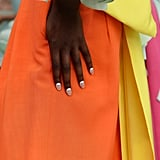 2020 Nail Art Trend: Inverted French Manicure