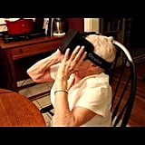 90-Year-Old Grandma Amazed by 3D Goggles