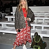 Lady Amelia Windsor at Matty Bovan Fall 2019