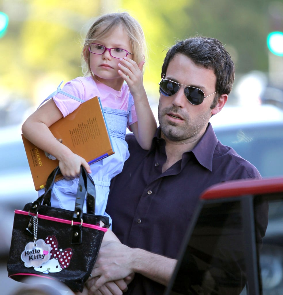 Pictures of Ben Affleck With Jennifer, Violet, Seraphina