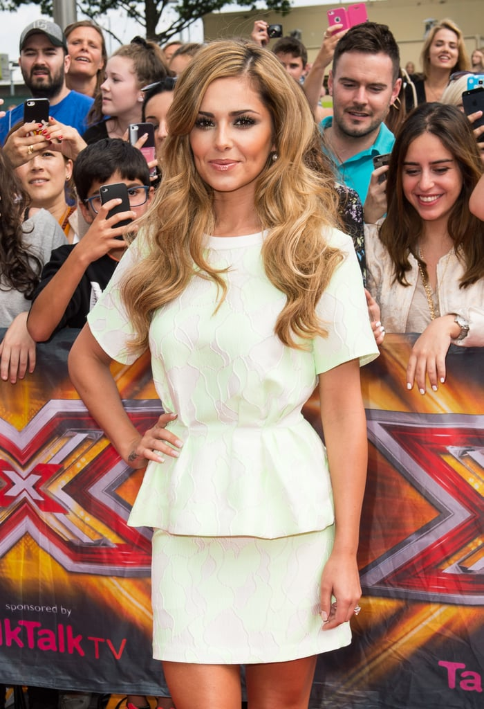 Cheryl Fernandez-Versini prepared to brave a new batch of X Factor contestants as the auditions came to Wembley on Friday.