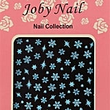 Joby Nail Art In Blue Snowflakes ($3)