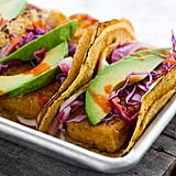 Crispy Beer-Battered Tofu Tacos