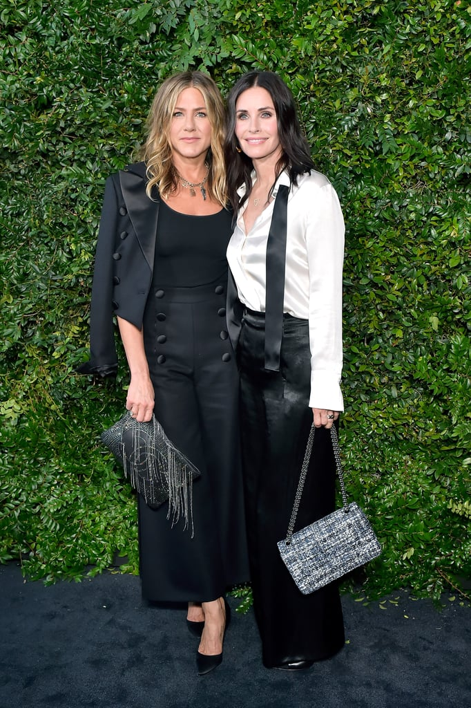Jennifer Aniston and Courteney Cox at Chanel Event June 2018