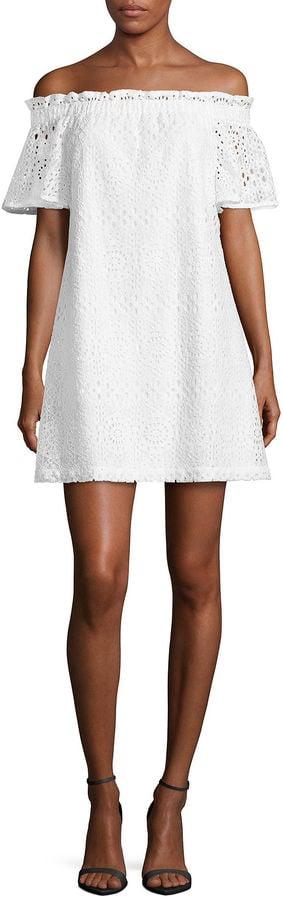 A.N.A. Lace Off the Shoulder Dress