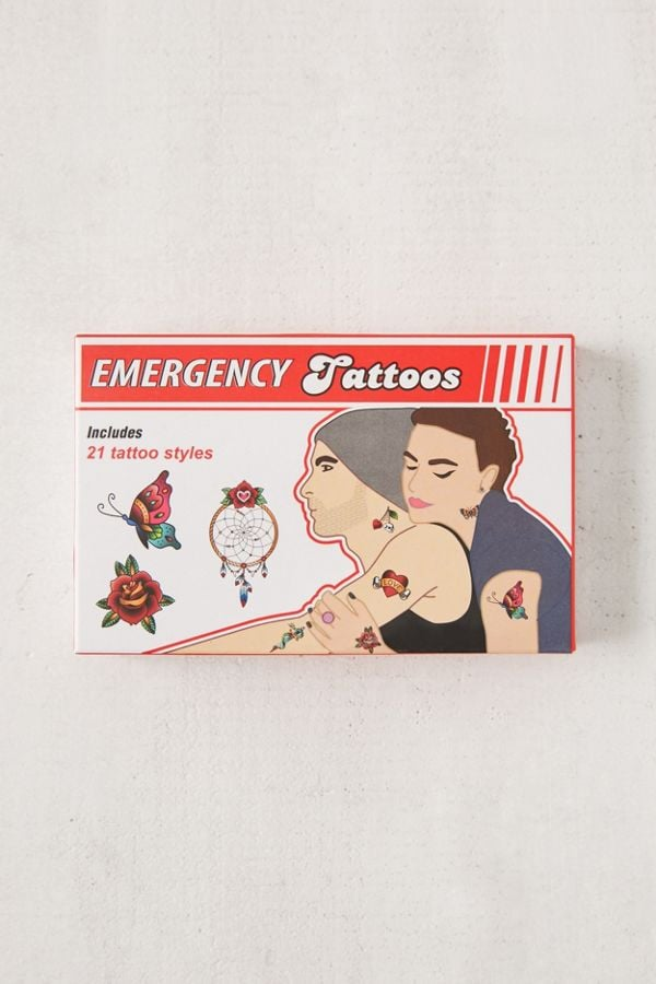 Emergency Disguise Tattoo Set
