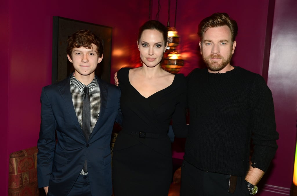 Angelina Jolie Throws Her Weight Behind Ewan MacGregor's Impossible Performance