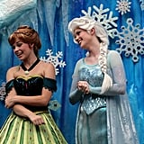 Frozen enthusiasts can see Anna and Elsa in the flesh at the daily Royal Welcome Parade, which takes place at the Hollywood Studios park at 11 a.m. Staying at a Disney hotel entitles visitors to extra Magic Hours, which means early entry into designated parks. The animals at Animal Kingdom's Kilimanjaro Safaris are most active while it's still early and cool, so try this attraction first when you arrive at the park.