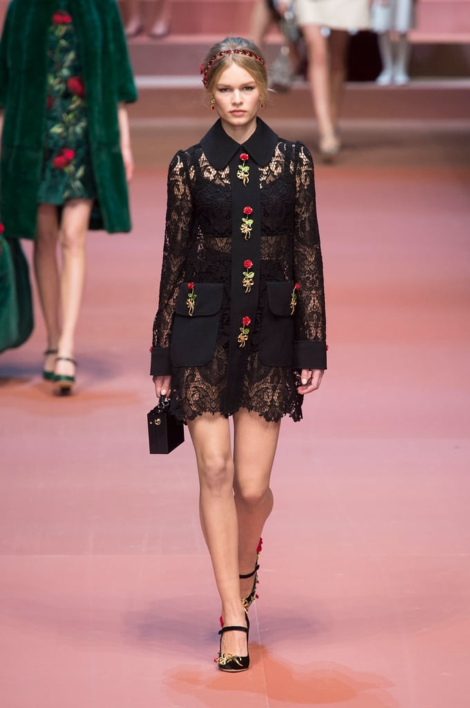 Dolce and Gabbana Fall Runway Show Milan Fashion Week 2015 ...