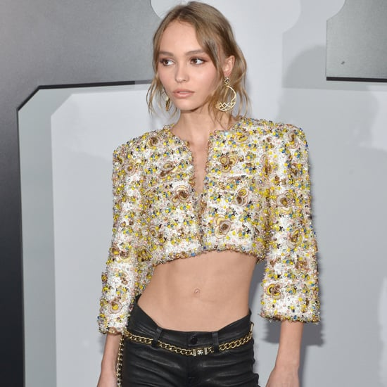 Lily Rose Depp's Cropped Chanel Jacket September 2016