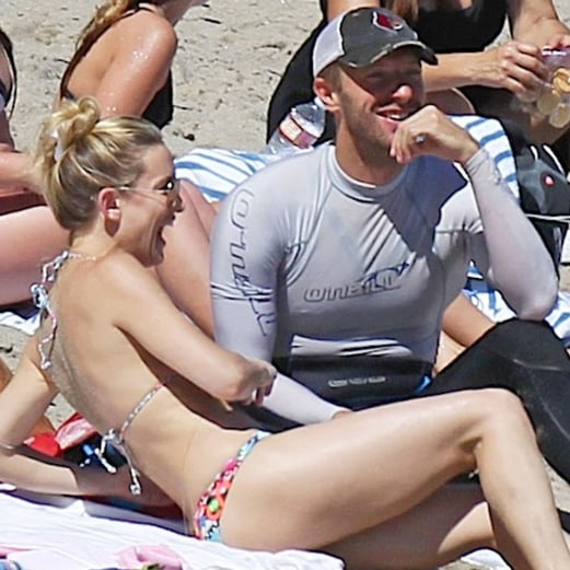 Kate Hudson in a Bikini on the Beach in LA | Pictures