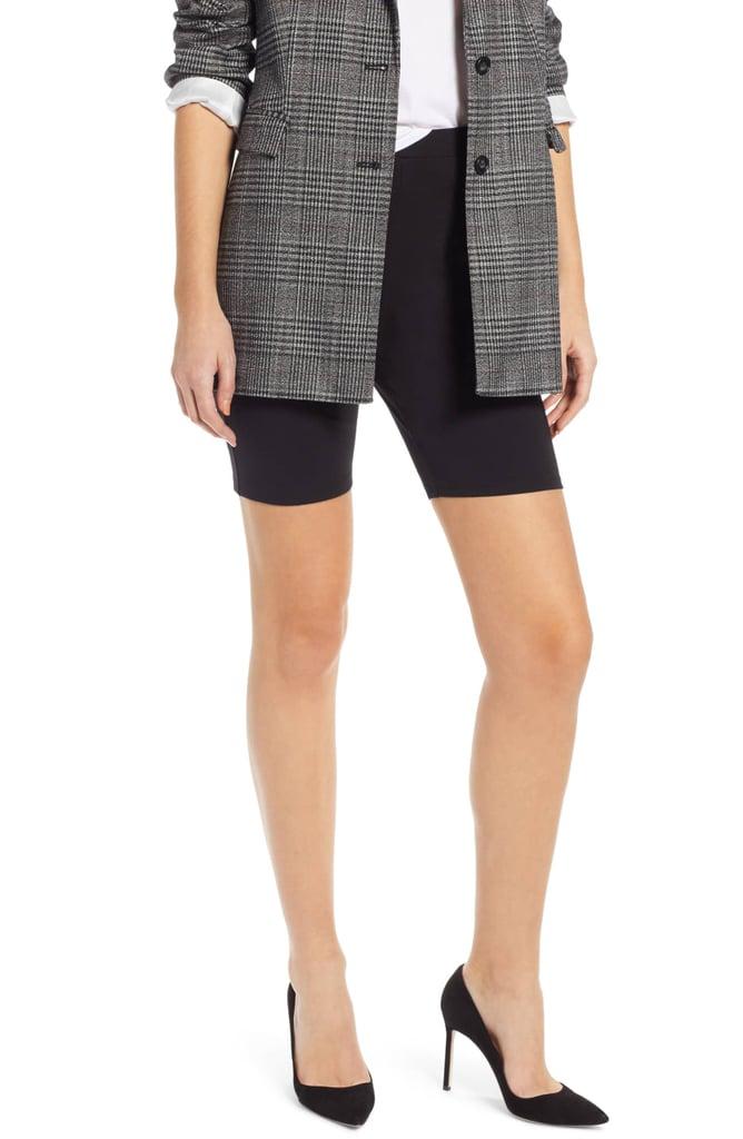 Bike Shorts With Blazers