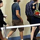 Leonardo DiCaprio visited the Miami Beach Convention Center on Wednesday.