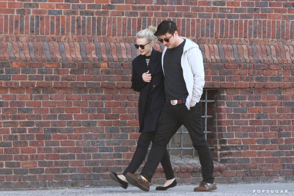 Carey Mulligan and Marcus Mumford kept close.