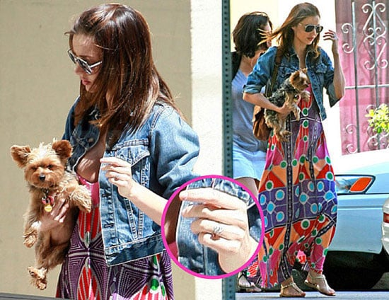 Pictures of Miranda Kerr's New Engagement Ring From Orlando Bloom