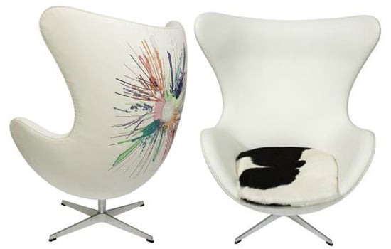 Eoin Colfer's New Book Features Arne Jacobsen Egg Chair, With Redesign Made Possible by Lost Weekend