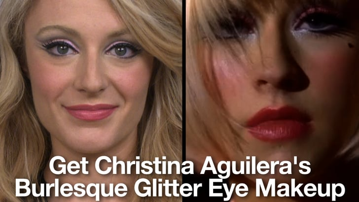 How To Get Christina Aguilera S Makeup Look From Burlesque Popsugar Beauty
