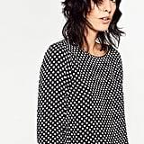 Zara Polka-Dot Blouse ($50)