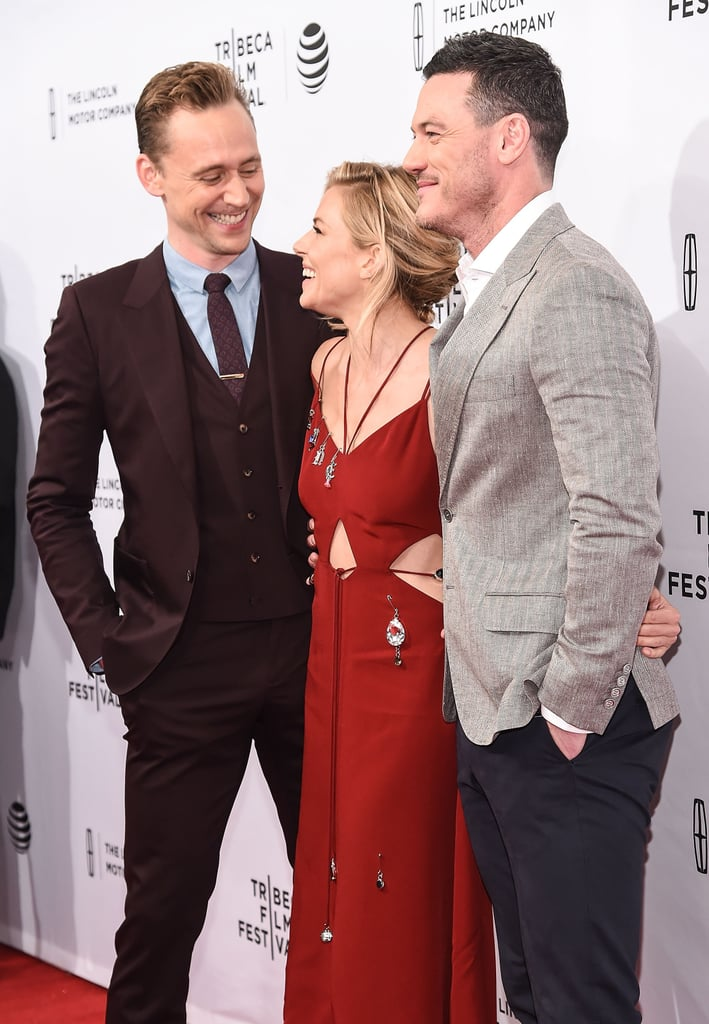 Sienna Miller and Tom Hiddleston at High-Rise Premiere 2016